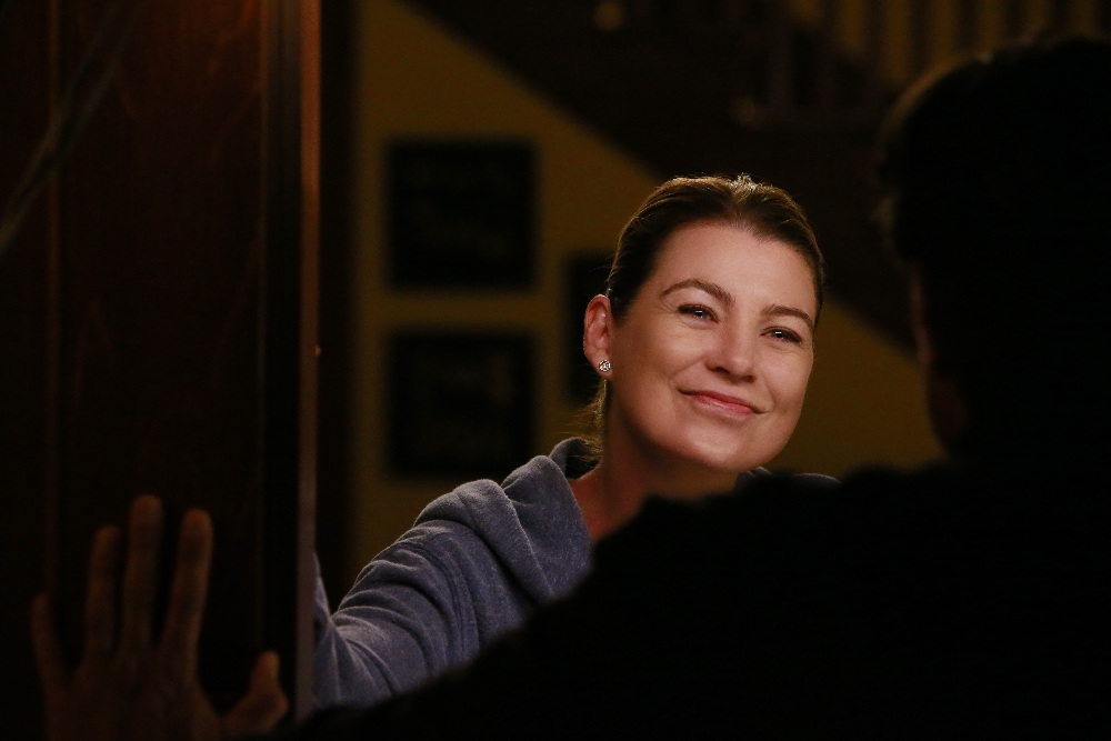 Grey's Anatomy: la protagonista Ellen Pompeo nell'episodio Undo
