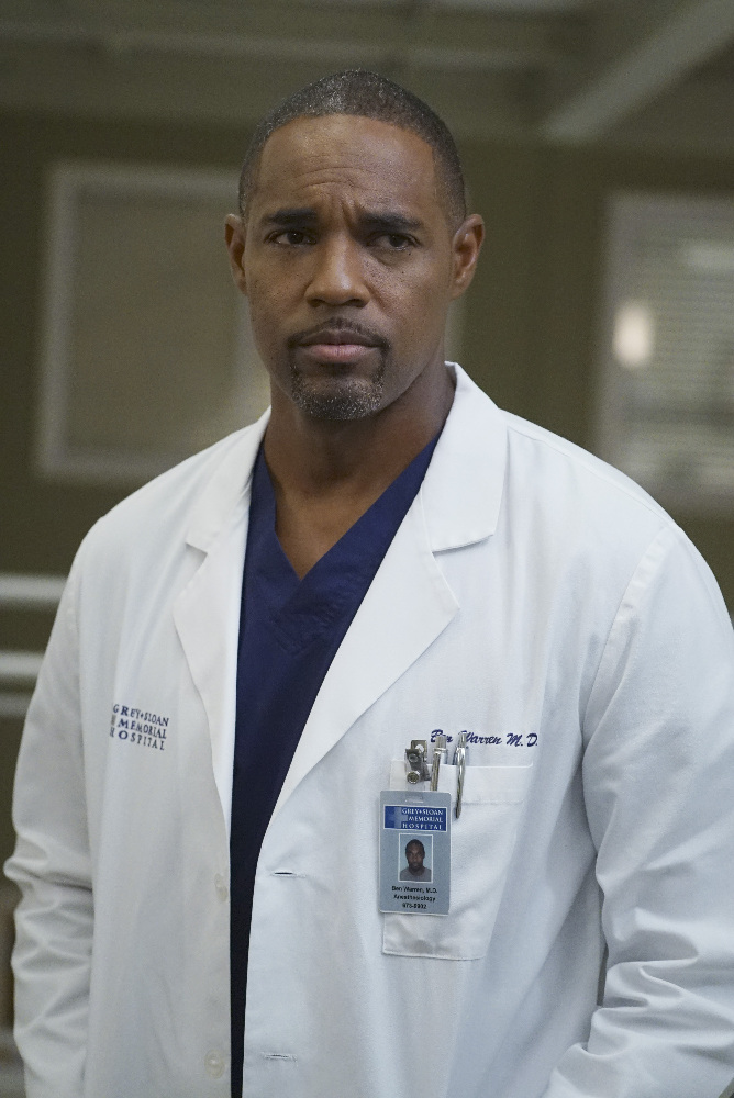 Grey's Anatomy: l'attore Jason George in una foto di Undo