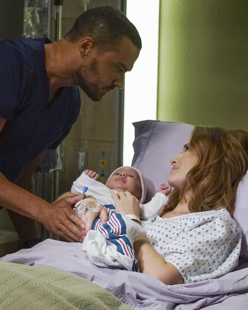 Grey's Anatomy: Jesse Williams e Sarah Drew in Undo