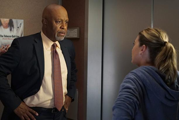 Grey's Anatomy: James Pickens Jr. ed Ellen Pompeo in Undo