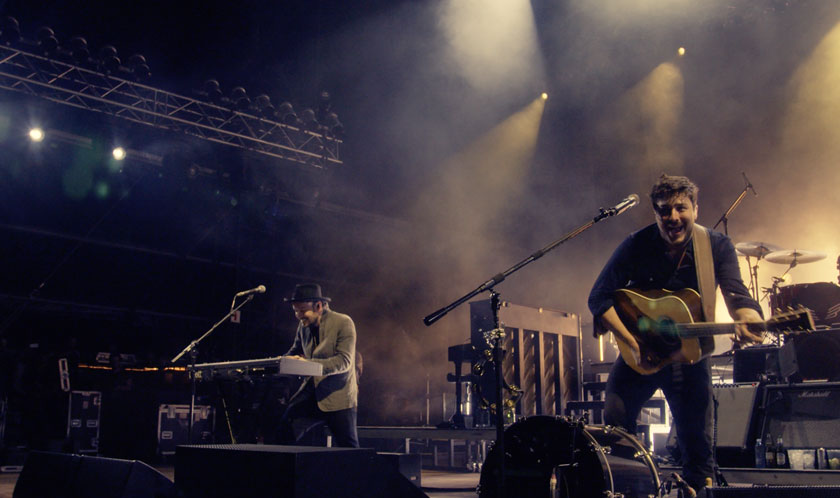 Mumford & Sons: un'immagine del documentario