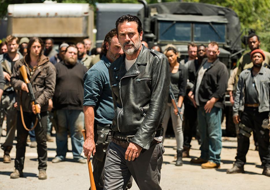 The Walking Dead: Jeffrey Dean Morgan insieme a Andrew Lincoln in Al tuo servizio