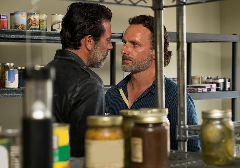 The Walking Dead:gli attori Jeffrey Dean Morgan e Andrew Lincoln in Al tuo servizio