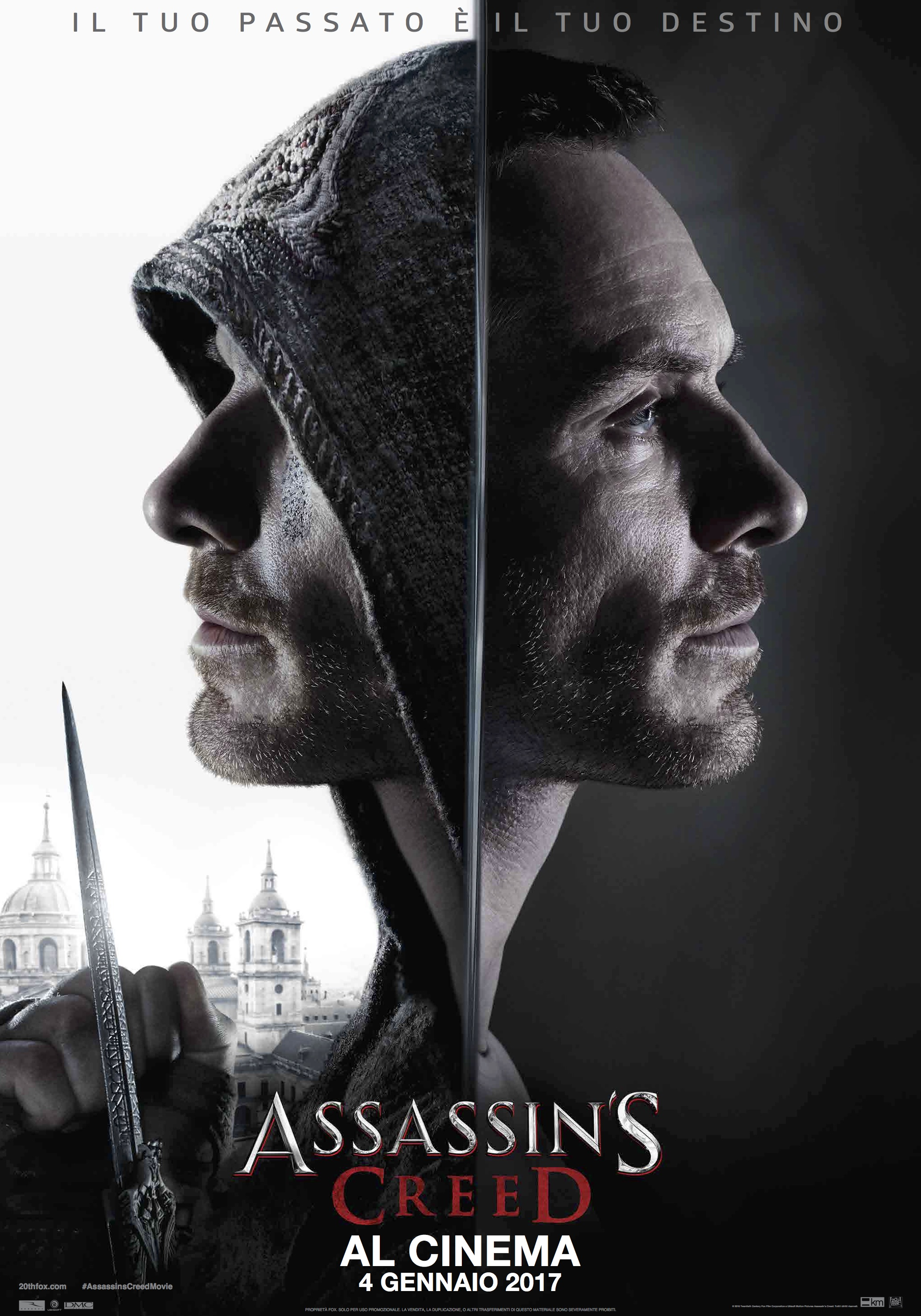 Assassin's Creed: un nuovo poster italiano