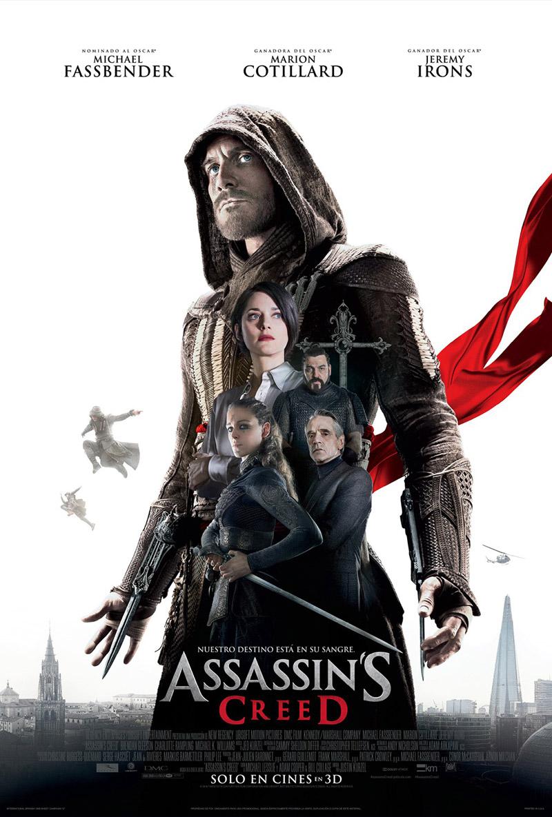 Assassin's Creed: la locandina internazionale del film