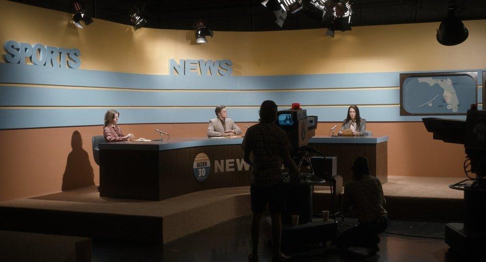 Christine: Rebecca Hall e Michael C. Hall in una scena del film