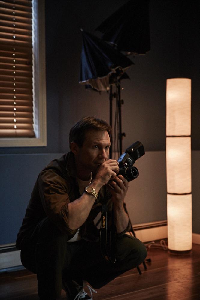 King Cobra: Christian Slater in una foto del film