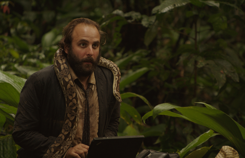 La loi de la jungle: Vincent Macaigne in una scena del film