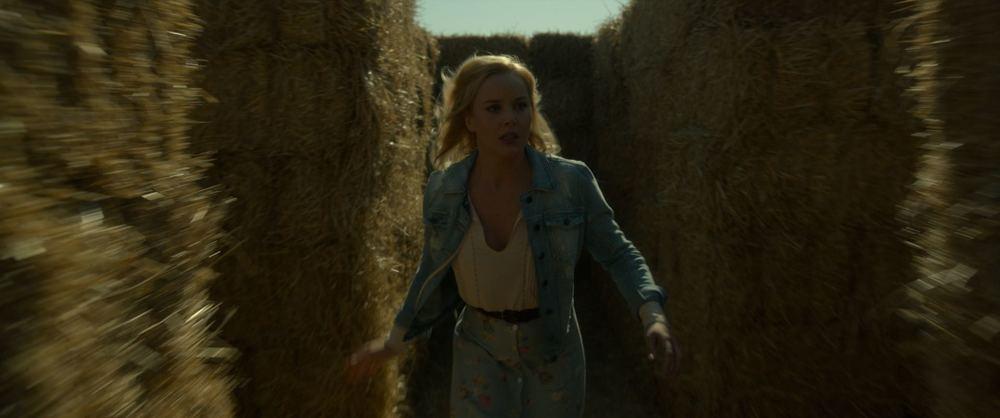 Lavender: Abbie Cornish in un concitato momento del film