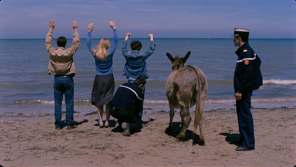 Les fils de Joseph: Victor Ezenfis, Fabrizio Rongione e Natacha Régnier in un momento del film