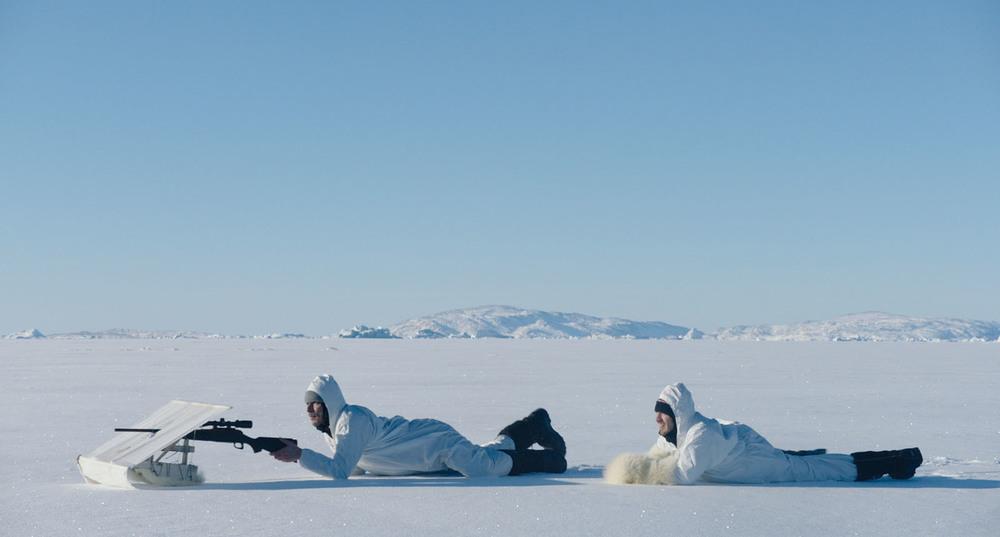 Le voyage au Groenland: Thomas Blanchard e Thomas Scimeca in un momento del film