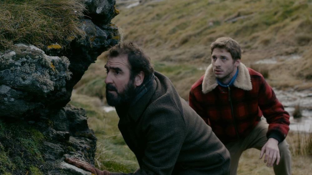 Marie et les naufragés: Eric Cantona e Damien Chapelle in un momento del film