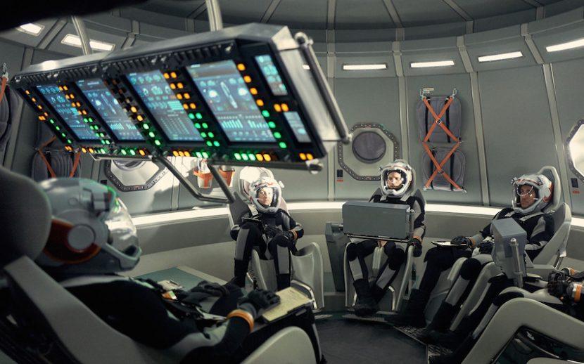 Mars: una foto degli astronauti