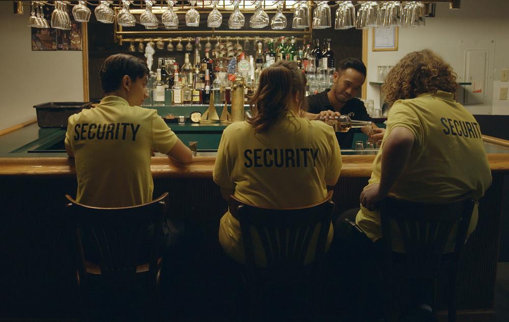 Wexford Plaza: Reid Asselstine e Darrel Gamotin in una scena del film