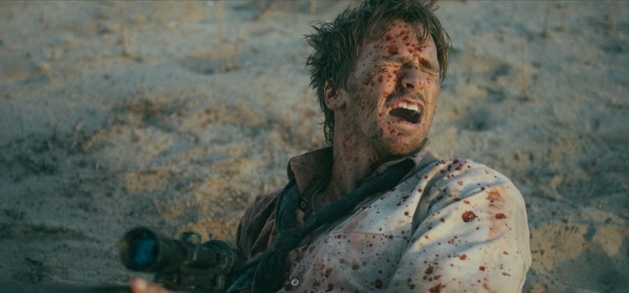 Sam Was Here: Rusty Joiner in una scena del film