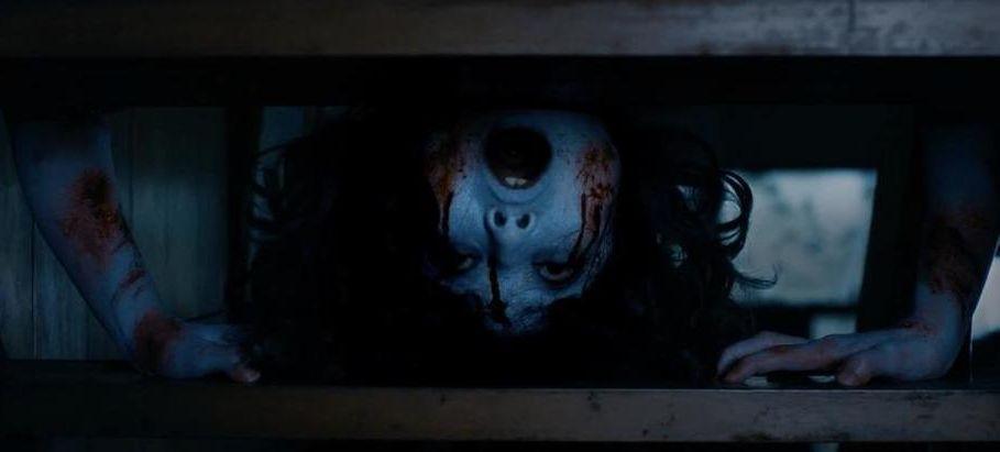 The Ring vs. The Grudge: una scena del film horror