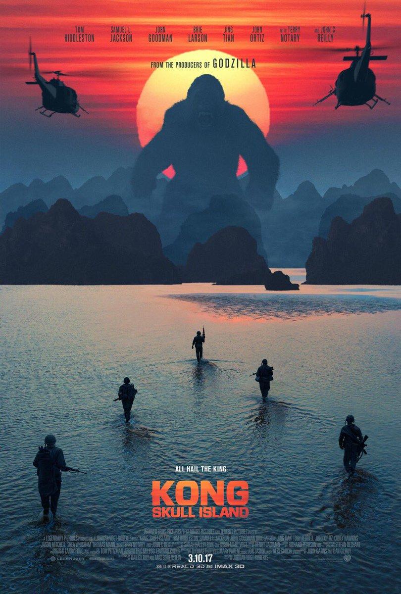 Kong: Skull Island - Locandina ufficiale del film