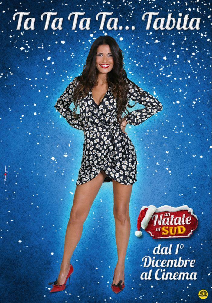 Un Natale al Sud - Barbara Tabita in un poster della commedia