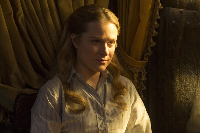 Westworld: Evan Rachel Wood in Trompe L'Oeil