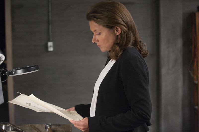 Westworld: una foto dell'attrice Sidse Babett Knudsen in Trompe L'Oeil