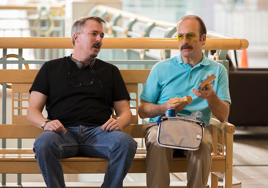 Better Call Saul: Vince Gilligan e Bob Odenkirk sul set
