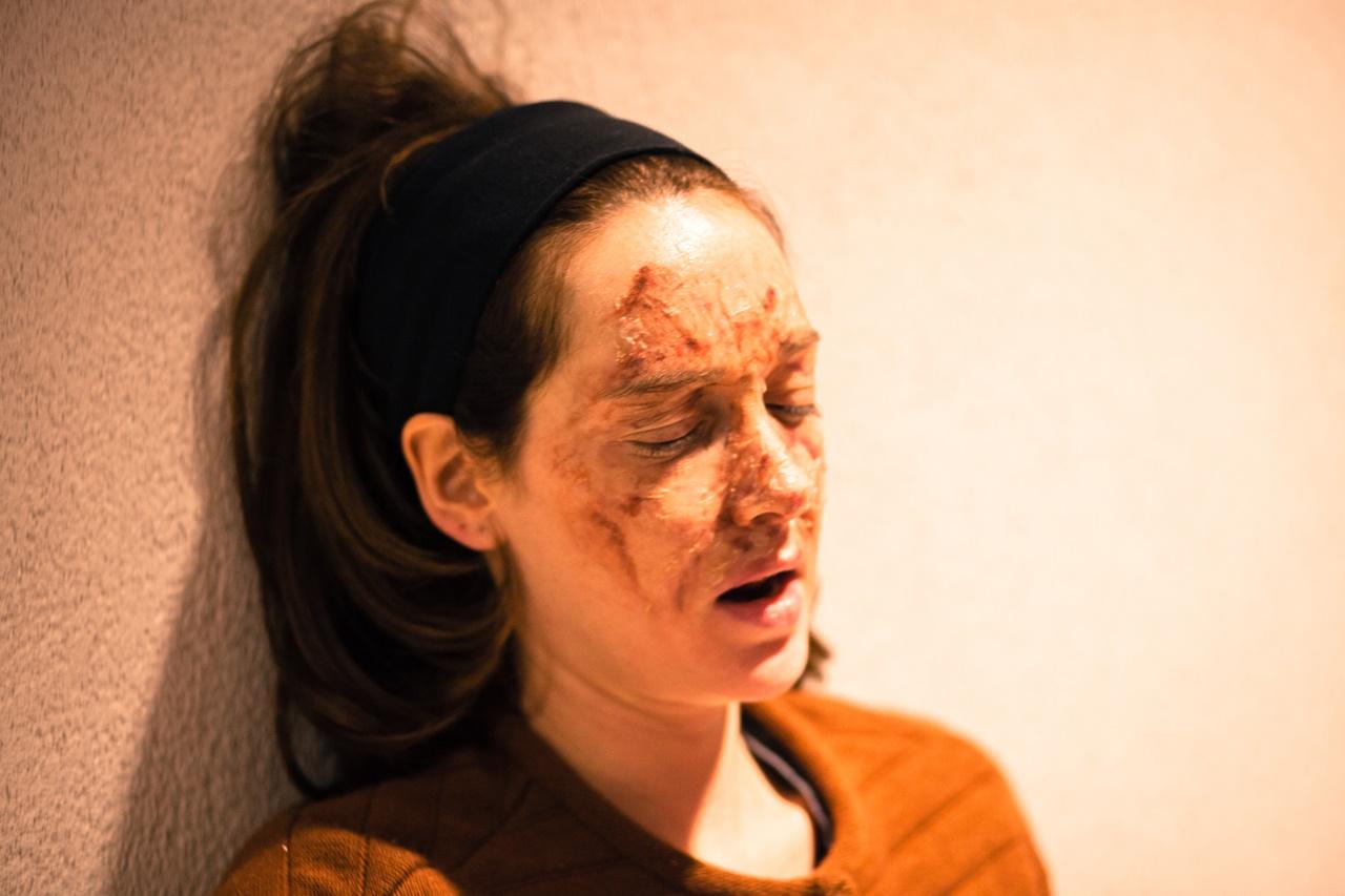Io ci sono: Cristiana Capotondi in una foto del film