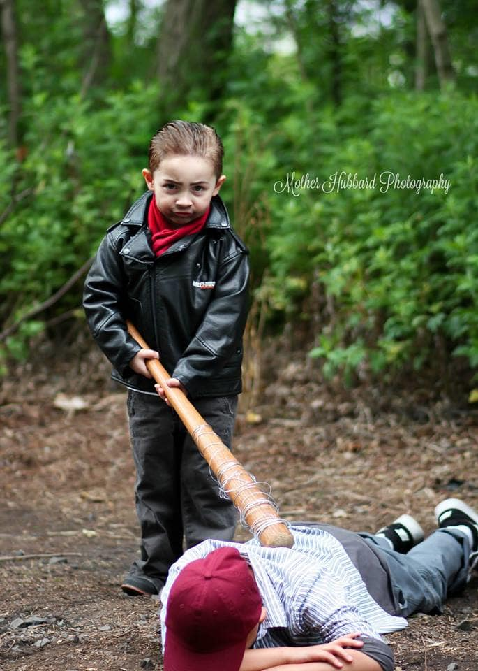 The Walking Dead foto bimbi