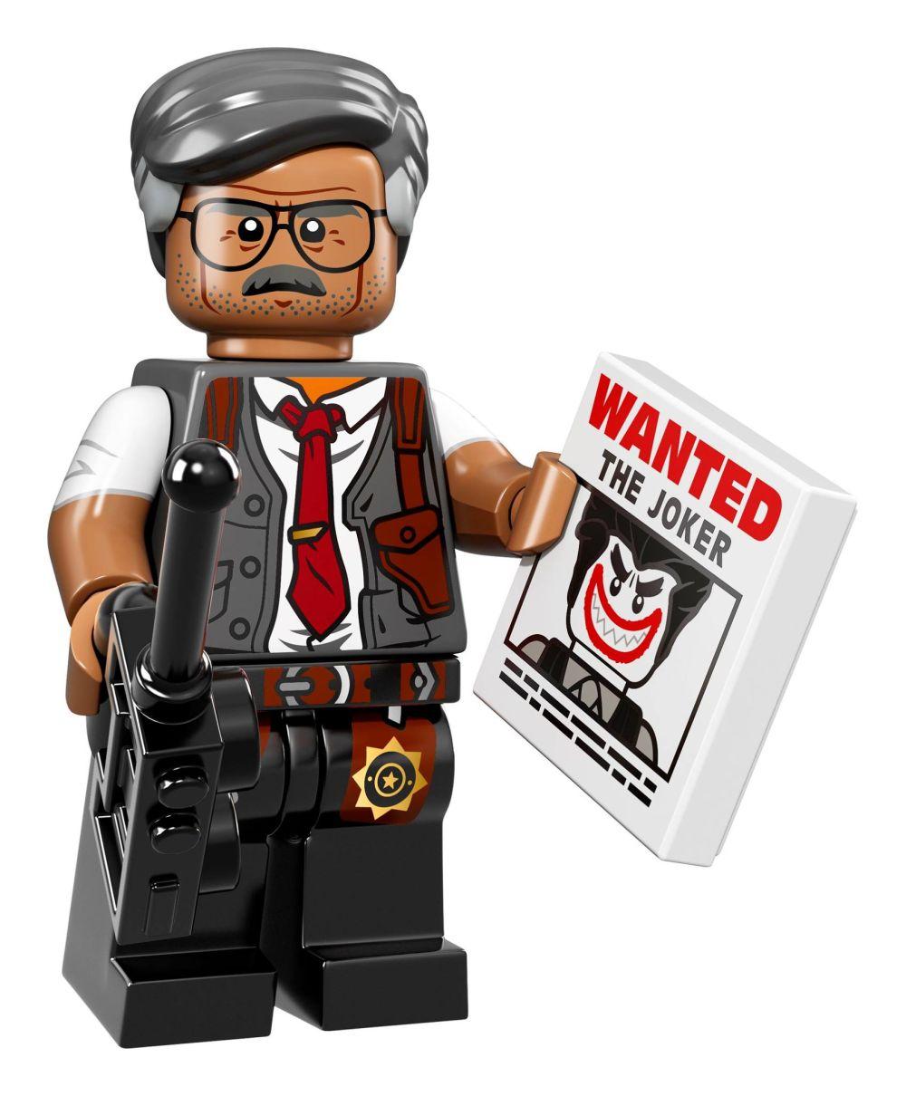 LEGO Batman Movie: il commissario Gordon