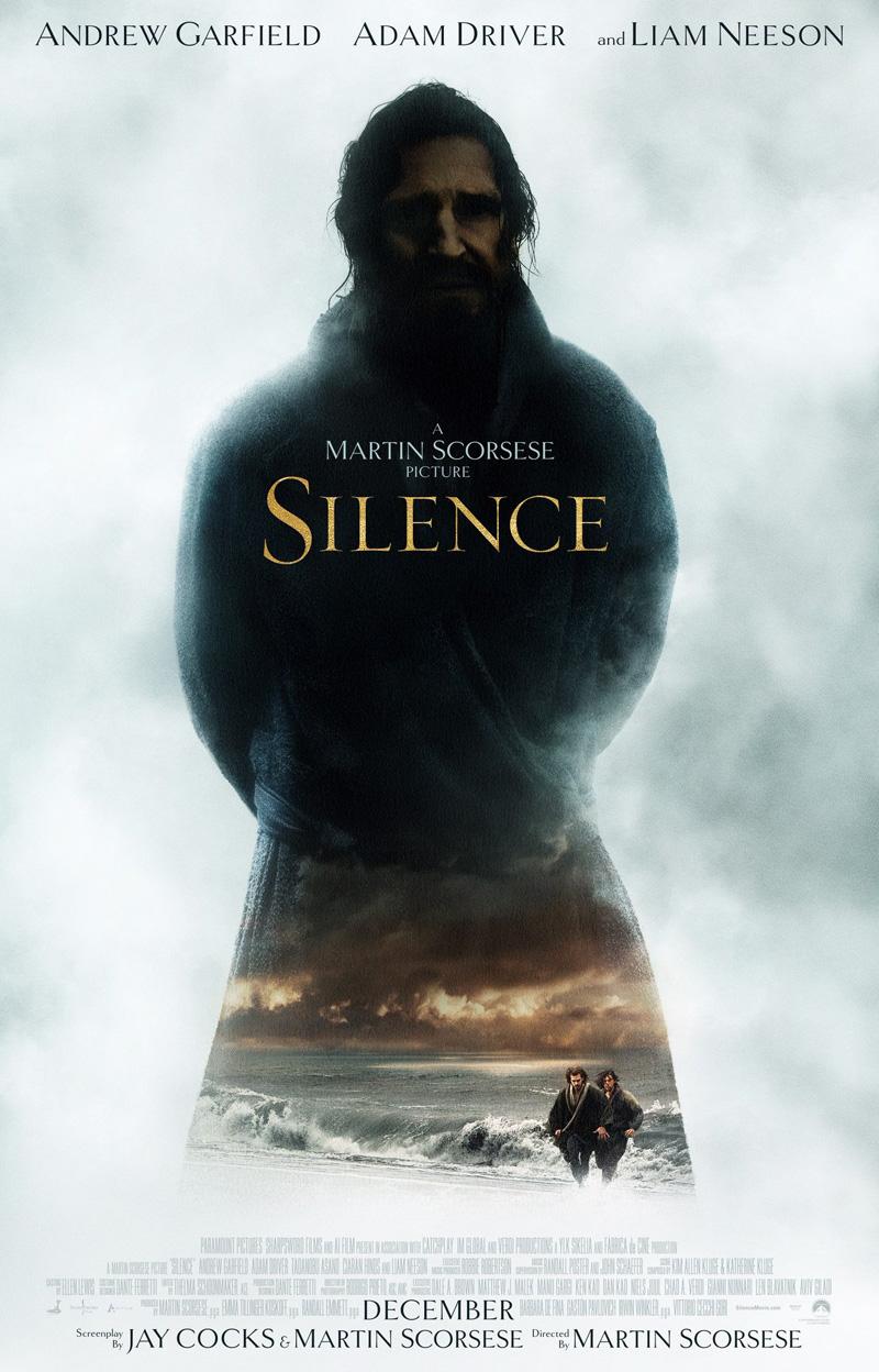 Silence: il poster del film
