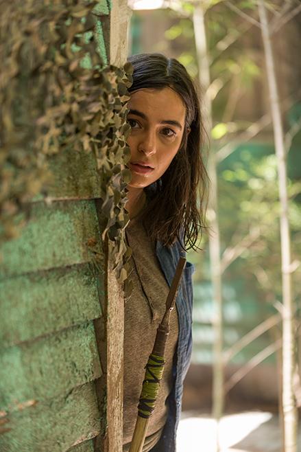 The Walking Dead: Alanna Masterson in Swear