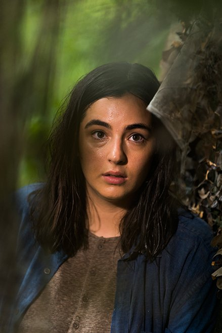 The Walking Dead: Alanna Masterson interpreta Tara in in Swear