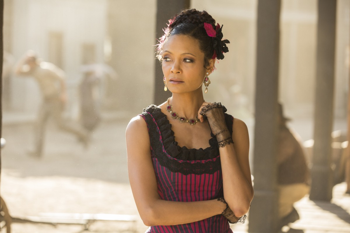 Westworld: l'attrice Thandie Newton in Trace Decay