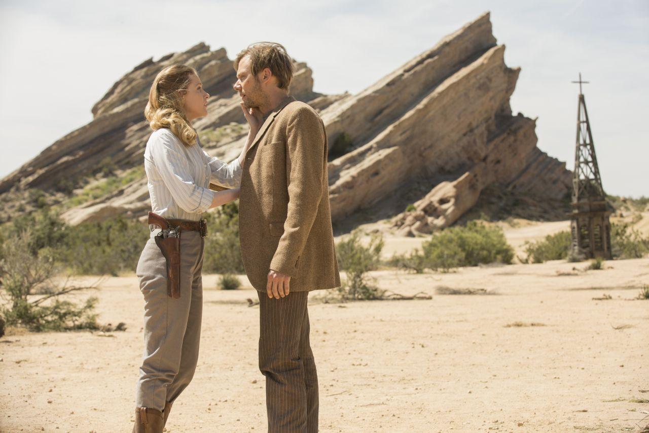 Westworld: Evan Rachel Wood e Jimmi Simpson in Trace Decay