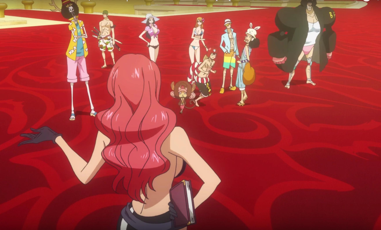 One Piece Gold: l'accoglienza a Grantesoro