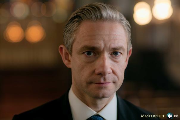 Sherlock: una foto di Martin Freeman