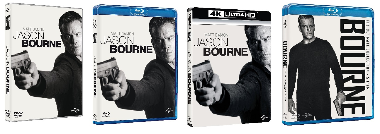 Le coiver di Jason Bourne e Bourne Collection