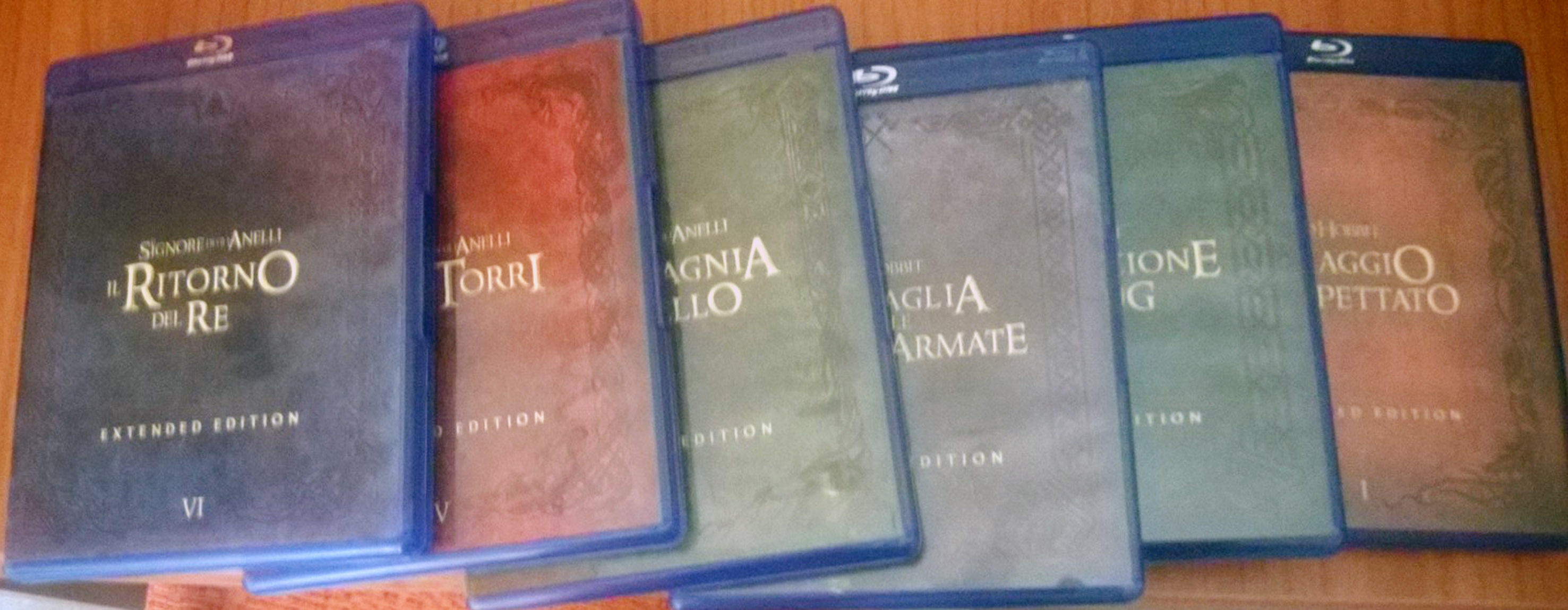 Le amaray della Middle Earth Collection