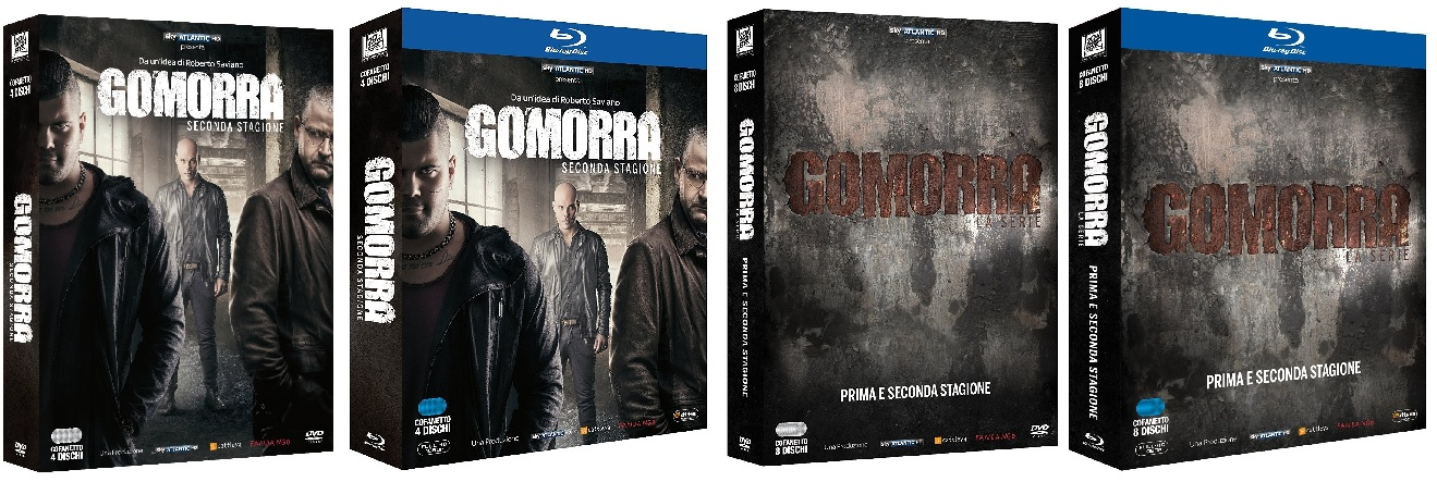 Le cover di Gomorra - stagione 2