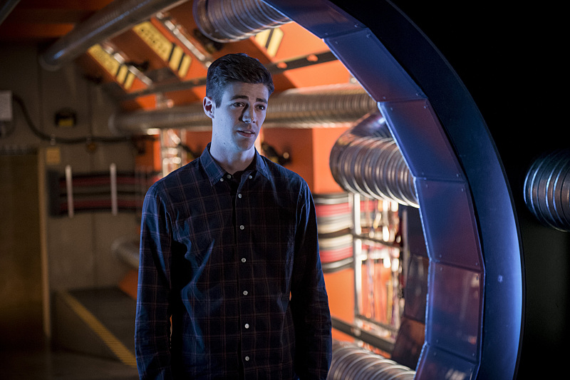 The Flash: il protagonista Grant Gustin in Killer Frost