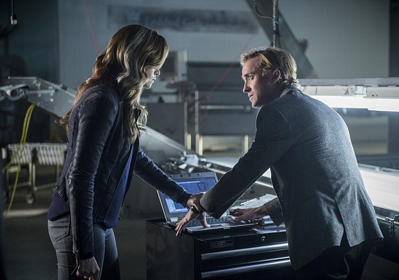 The Flash: Danielle Panabaker e Tom Felton nell'episodio Killer Frost