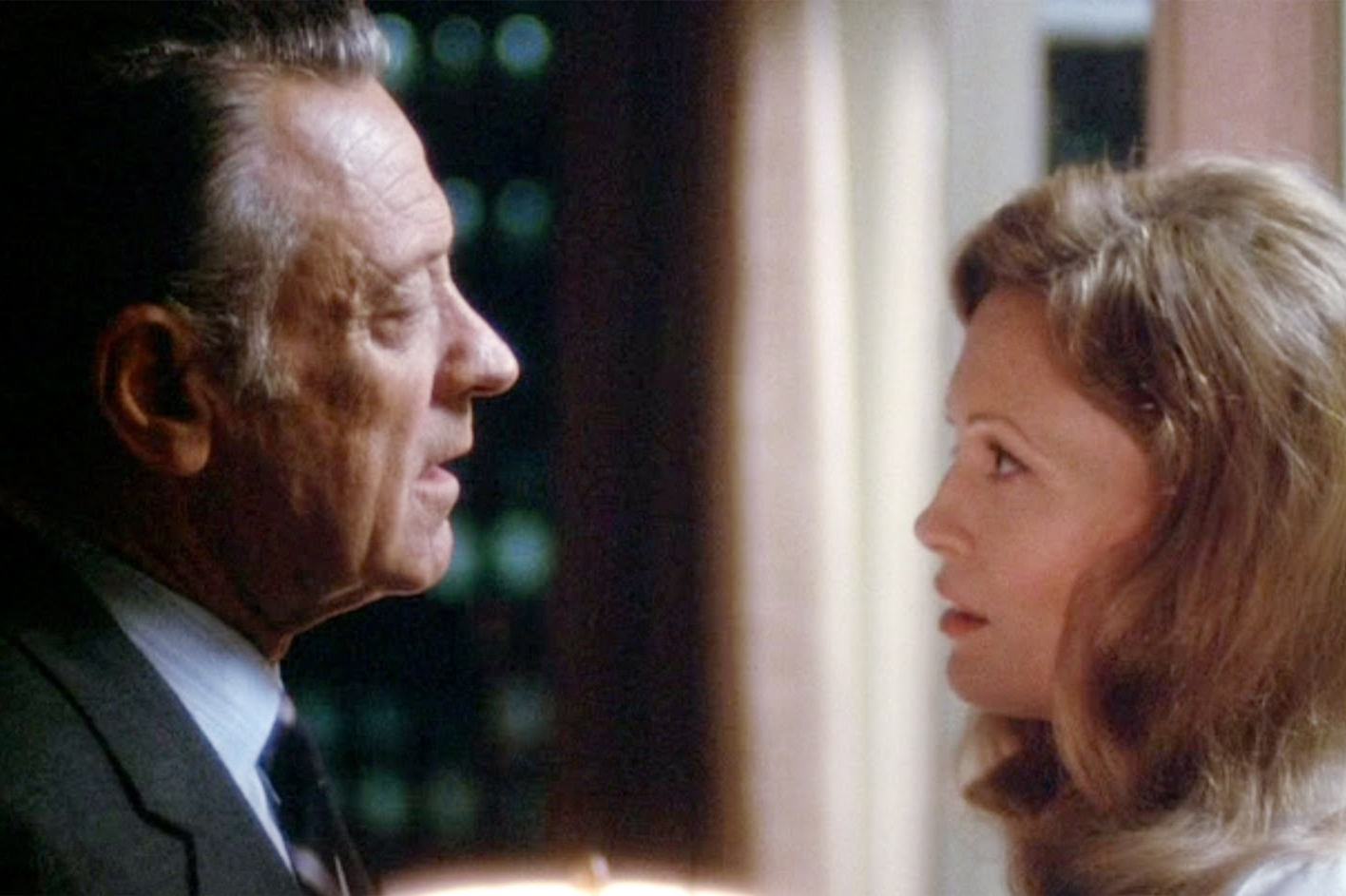 Quinto Potere: William Holden e Faye Dunaway