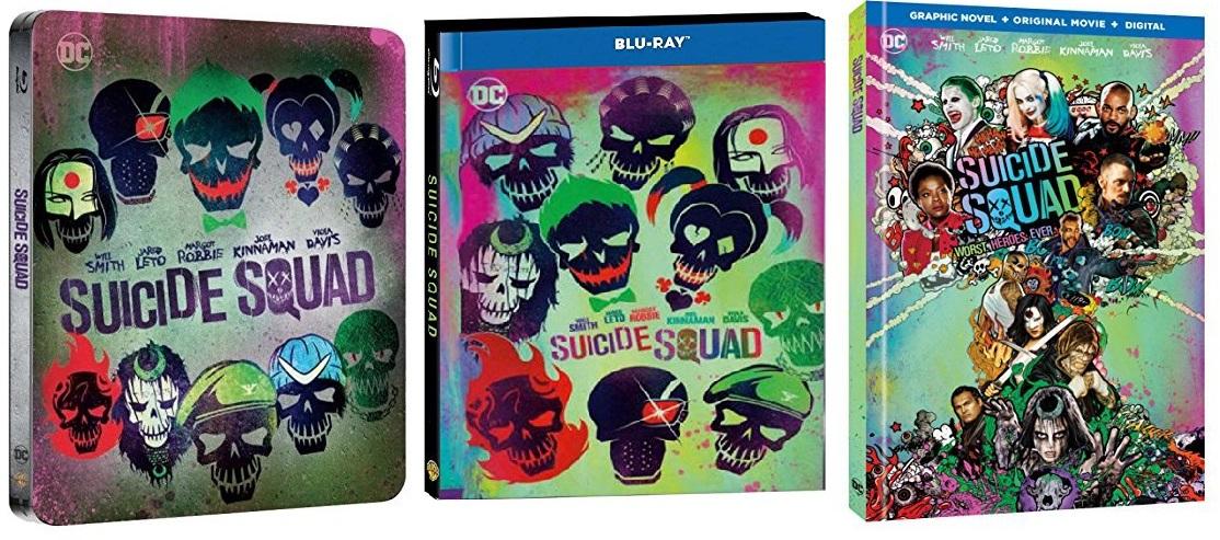 Le edizioni speciali di Suicide Squad