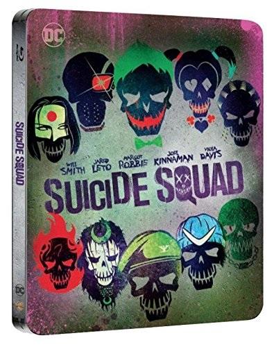 La steelbook di Suicide Squad