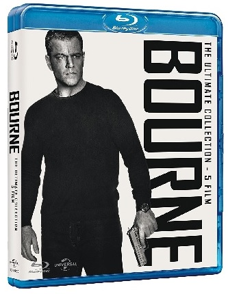 La cover di Bourne Collection