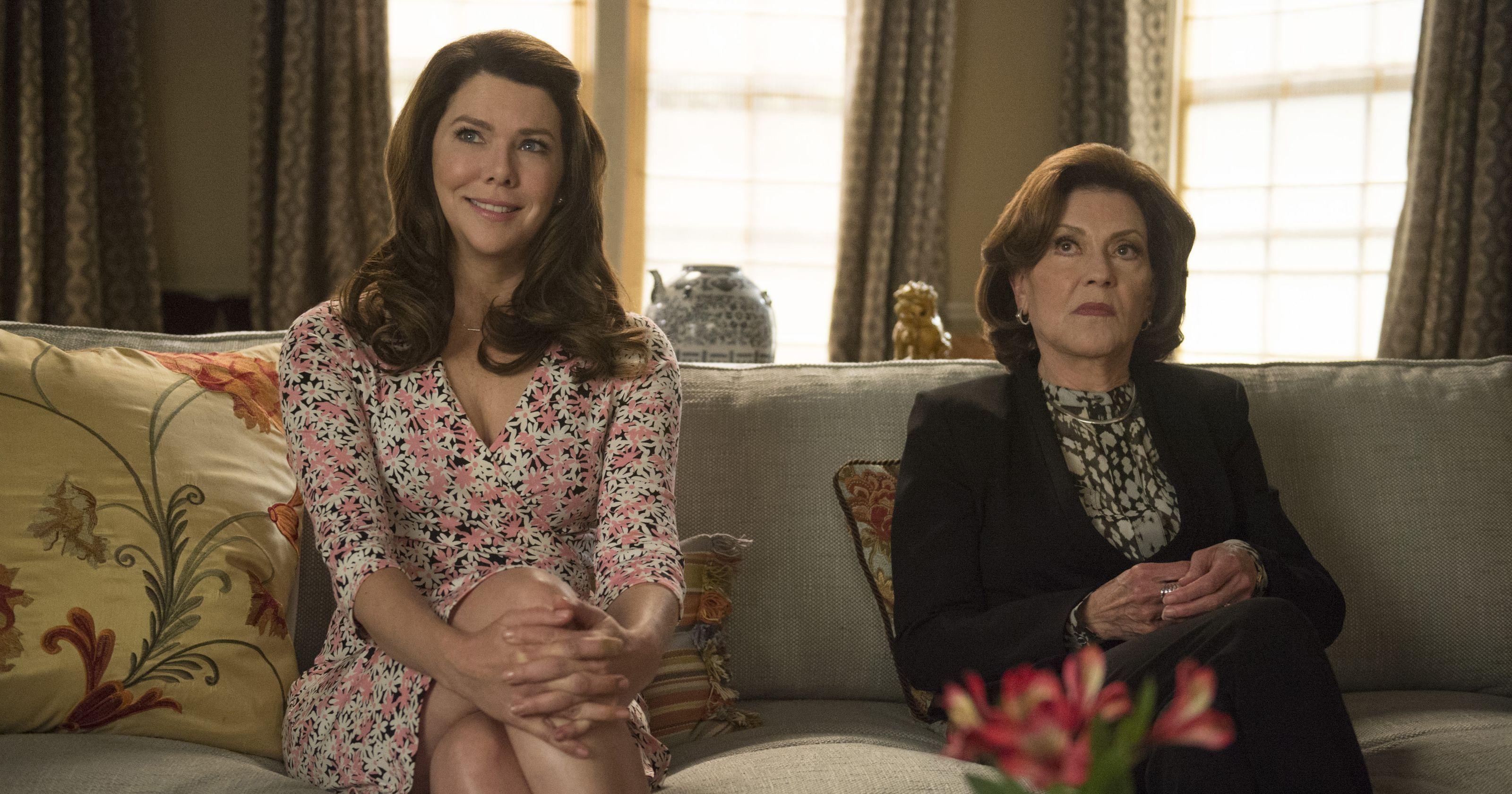 Una mamma per amica, di nuovo insieme: Lauren Graham e Kelly Bishop nell'episodio Primavera
