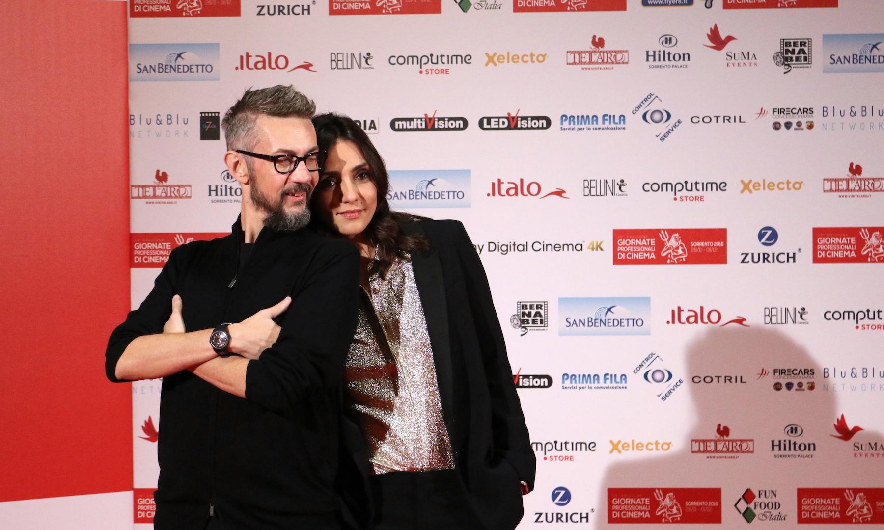 La verità, vi spiego, sull'amore: Ambra Angiolini, Max Croci alle giornate professionali del cinema di Sorrento