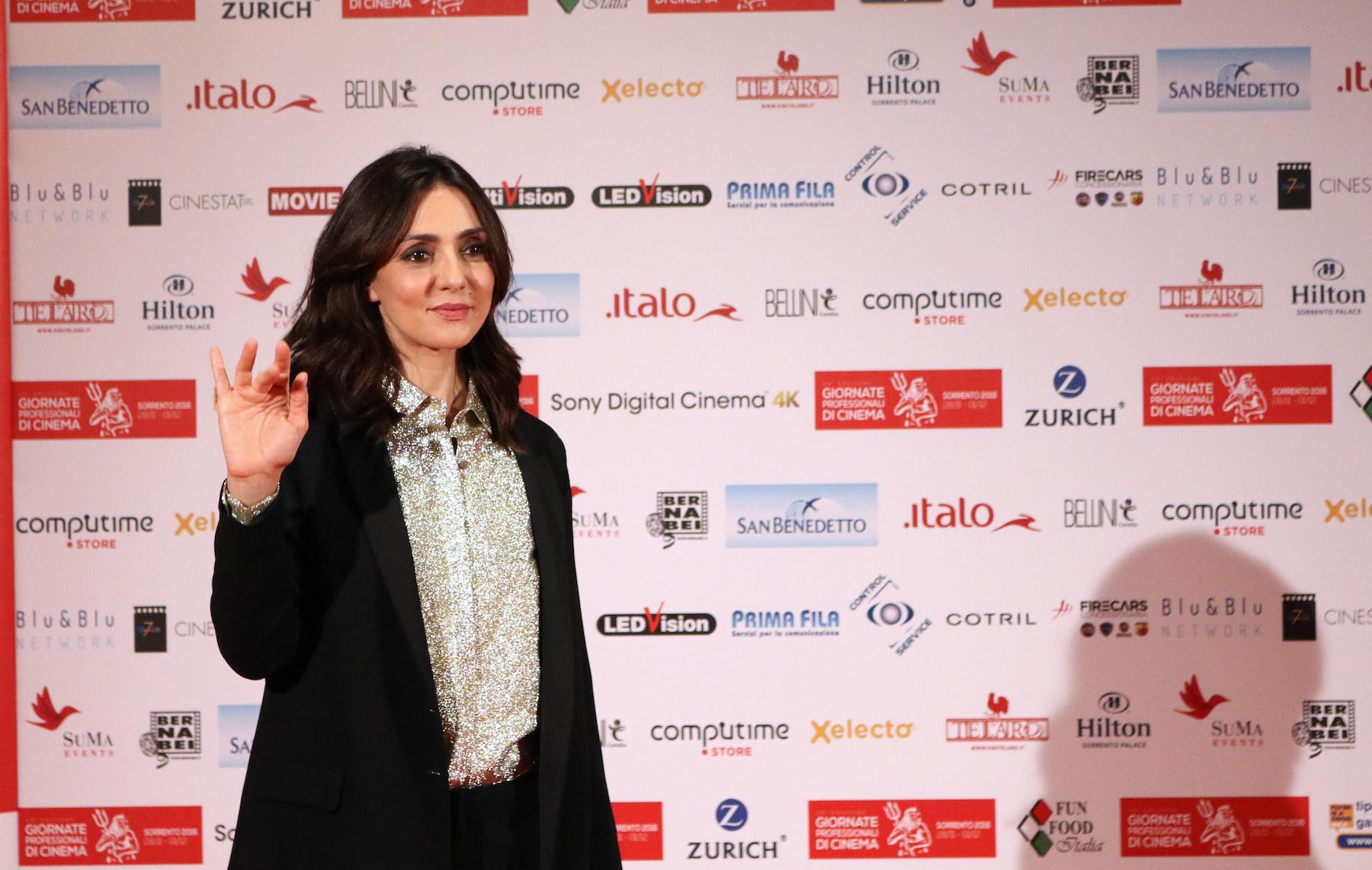 La verità, vi spiego, sull'amore: Ambra Angiolini alle giornate professionali del cinema di Sorrento