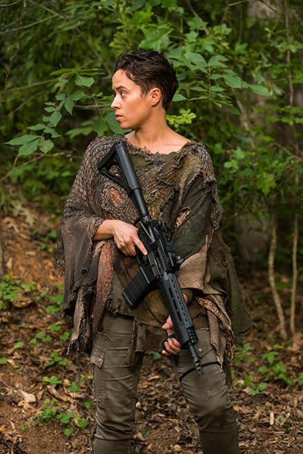 The Walking Dead: l'attrice Briana Venskus interpreta Beatrice