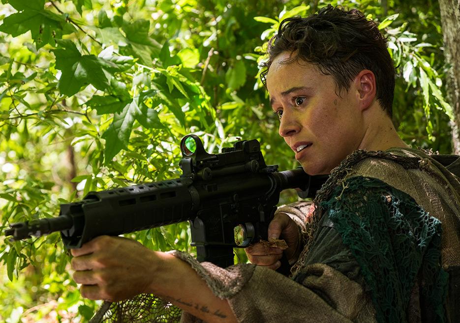 The Walking Dead: l'attrice Briana Venskus in una foto di Swear