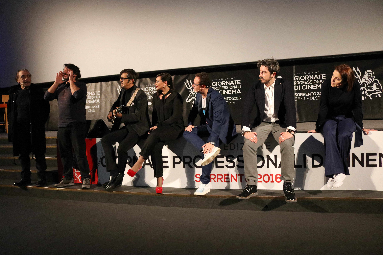 Natale a Londra: il cast del film alla presentazione a Sorrento
